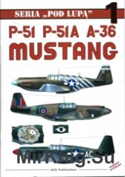 Seria Pod Lupa 01 - P-51 , P-51A , A-36 Mustang