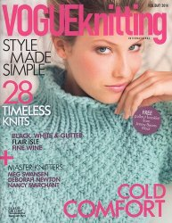 Vogue Knitting - Holiday 2014