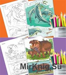 National Geographic Kids. Coloring Book: Animals