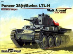Panzer 38(t)/Swiss LTL-H (Squadron Signal Walk Around Color Series 5713)