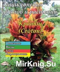 Энциклопедия цветов и растений № 4 (2015) Кротон