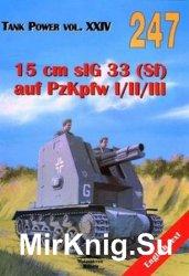 15 cm sIG 33 (Sf) auf PzKpfw I/II/III (Wydawnictwo Militaria 247)