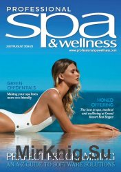 Professional Spa & Wellness - July/August 2016