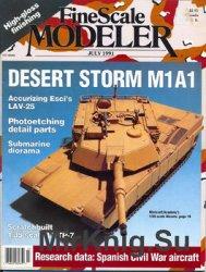 FineScale Modeler 1991-07