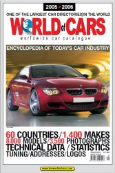 World of Cars 2005/2006 Worldwide Car Catalogue