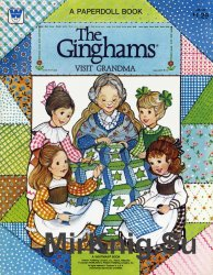 The Ginghams Visit Grandma Paper Doll Book