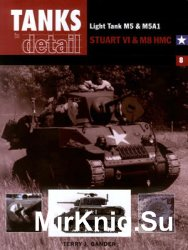 Light Tank M5 & M5A1, Stuart VI & M8 HMC (Tanks in detail №8)
