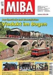 MIBA Die Eisenbahn im Modell 2016-07