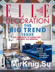 Elle Decoration - August 2016 (UK)