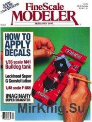FineScale Modeler 1991-02