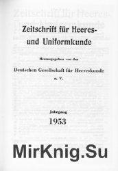 Zeitschrift fur Heeres- und Uniformkunde №128-133