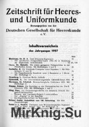 Zeitschrift fur Heeres- und Uniformkunde №152-156