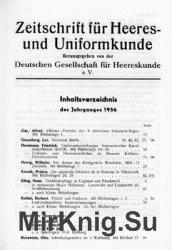 Zeitschrift fur Heeres- und Uniformkunde №146-151
