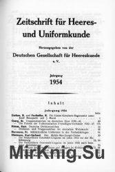 Zeitschrift fur Heeres- und Uniformkunde №134-139