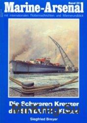 Marine-Arsenal 022 - Die Schweren Kreuzer der SEYDLITZ-Klasse
