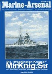 Marine-Arsenal 023 - Die Washington-Kreuzer als Schlachtschiff-Ersatz