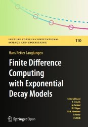 Finite Difference Computing with Exponential Decay Models