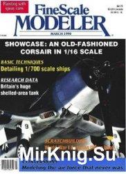 FineScale Modeler 1990-03