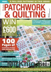 British Patchwork and Quilting - August 2015