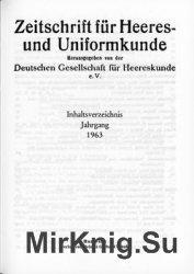 Zeitschrift fur Heeres- und Uniformkunde №185-190
