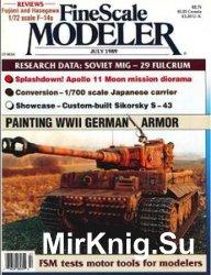 FineScale Modeler 1989-07