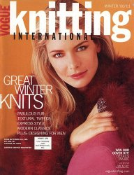 Vogue Knitting Magazine - Winter 2000
