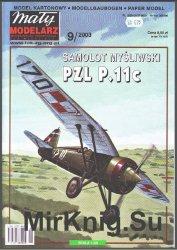 PZL P.11c [Maly Modelarz  9/2003]