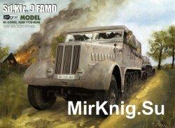 Полугусеничный транспортер Sd.Kfz.9 FAMO, Германия, 1939г. [Angraf 5/2005]