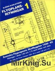 Svenska Flygvapnets Skolflygplan 1926-83 (Flygplansritningar 1)