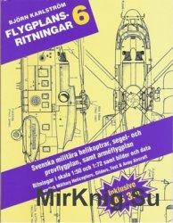 Svenska militara helikoptrar, prov- och segelflygplan mellan aren 1926-1991 ...