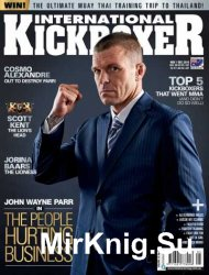 International Kickboxer.  November-December 2015