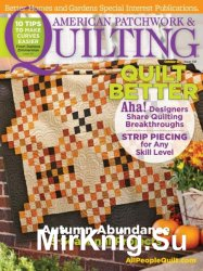 American Patchwork & Quilting №136 October 2015