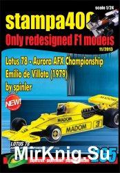 Lotus 78 - Emilio de Villota, Zandvoort, 1979 [Stampa400, № 265]