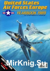 United States Air Forces Europe - Yearbook 1989