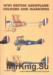 WWI British Aeroplane Colours and Markings (Windsock Fabric Special 02)