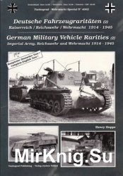 German Military Vehicle Rarities (2) (Tankograd Wehrmacht Special №4002)