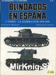 Blindados en Espana (1 parte): La Guerra Civil 1936-1939