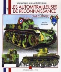 Les Automitrilleuses De Rekonnaissence. Tome 2 L'AMR 35 Renault
