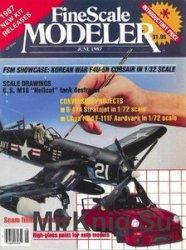 FineScale Modeler 1987-06