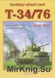 Sovetsky Stredni Tank T-34/76: 1940-1943 (MBI)