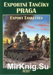 Praga Export Tankettes / Praga Exportni Tanciky (MBI)