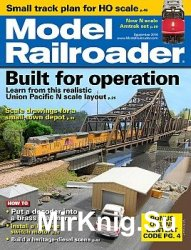 Model Railroader 2016-09