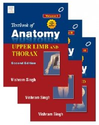 Textbook of Anatomy, 2nd Edition. Vol.I-III