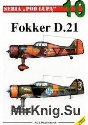 Seria Pod Lupa 10 - Fokker D XXI