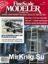 FineScale Modeler 1986-10