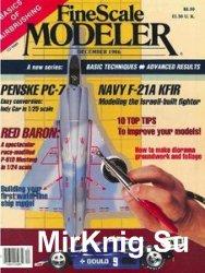 FineScale Modeler 1986-12