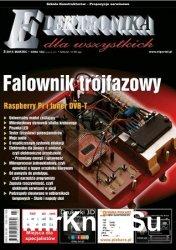 Elektronika dla Wszystkich №3 2016