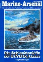 Marine-Arsenal 029 - Die Schlachtschiffe der Bayern-Klasse