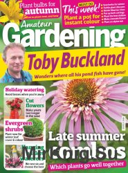 Amateur Gardening 30 July 2016
