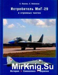 Истребитель МиГ-29 в строевых частях - история, символика, окраски